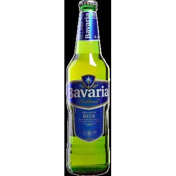 Пиво Бавария Премиум светлое алк. 5% 0,66 л. х 15 ст.бут. / Bavaria Premium, Нидерланды.