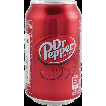 Напиток б/алк Доктор Пеппер 0,33 x 24!!! ж/б / Dr. Pepper