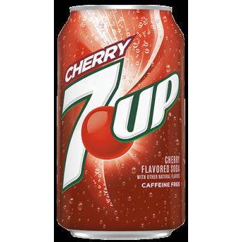Севен Ап Черри 0,355 x 12 ж/б (США)/7 - up Cherry