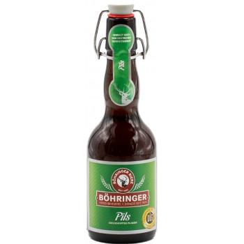 Пиво BOHRINGER Pils (Бохрингер Пилс) светлое 0.33 х 20 ст.бут. алк. 4.8%
