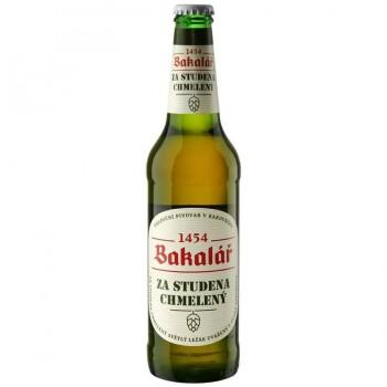 Пиво Bakalar Za Studena Chmeleny (Бакалар холодного охмеления) светлое 0,5 л х 20 ст.бут.