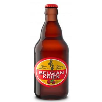 Пиво Belgian Kriek (Белжиан Крик) светлое фильтрованное с ароматом вишни  0,33 л х 12 ст.бут.
