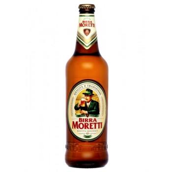 Пиво Birra Moretti (Бирра Моретти Премиум Лагер) 0,33 л х 24 ст.бут.
