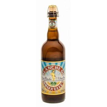 Пивной напиток Blanche de Bruxelles (Бланш де Брюссель) нефильтрованный 0,75 л х 6 ст.бут.