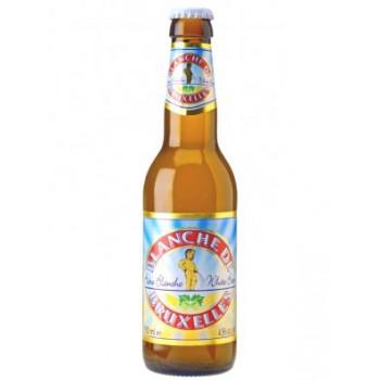Пивной напиток Blanche de Bruxelles (Бланш де Брюссель) светлый нефильтрованный 0,33 л х 12 ст.бут.
