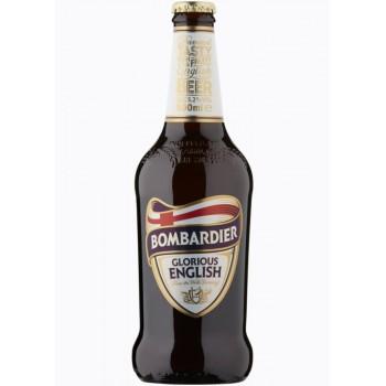 Пивной напиток Wells Bombardier Glorious English Ale (Веллс Бомбардье Глориус Английский Эль) 0,5 л x 12 ст.бут.