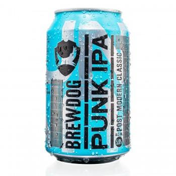 Пиво BrewDog Punk IPA (БрюДог Панк ИПА) светлое 0,33 л х 24 ж/б