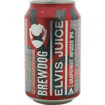 Пивной напиток BrewDog Elvis Juice (БрюДог Элвис Джус) 0.33 л х 24 ж/б