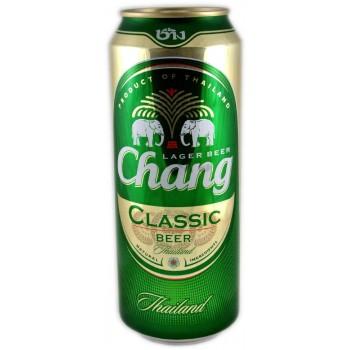 Пиво Chang Classic (ЧАНГ Классик) светлое 0,5 л х 24 ж/б