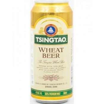 Пиво Tsingtao Wheat (Циндао Белое) 0,5 л х 12 ж/б