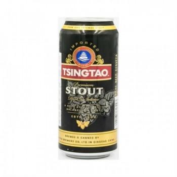 Пиво Tsingtao Stout (Циндао СТАУТ) тёмное 0,5 л х 12 ж/б
