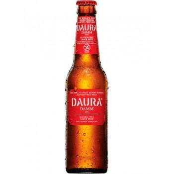 Пиво Daura Damm (Даура Дамм) светлое фильтрованное 0,33 л х 24 ст.бут.