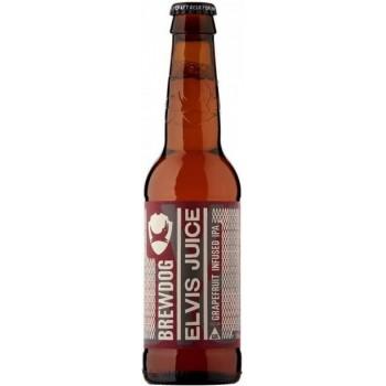 Пивной напиток BrewDog Elvis Juice (БрюДог Элвис Джус) 0.33 л х 24 ст.бут.