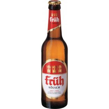 Пиво Fruh Kolsch (Фрюх Кельш) светлое пастеризованное фильтрованное 0,5 л х 20 ст.бут.