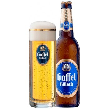 Пиво Gaffel Kolsch (Гаффель Кельш) 0,5 л х 20 бут.