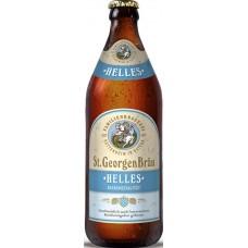 Пиво St. GeorgenBrau HELLES (Санкт Георген Брау Хеллес) светлое фильтрованное непаст. 0.5 х 20 ст.бут. алк. 4,6%