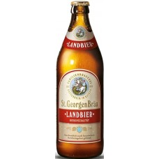 Пиво St.GeorgenBrau LANDBIER (Санкт Георген Брау Лэндбир) тёмное фильтрованное непаст. 0.5 х 20 ст.бут. алк. 4,9%