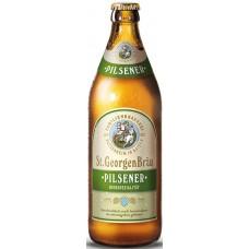 Пиво St.GeorgenBrau PILSENER (Санкт Георген Брау Пилснер) светлое фильтрованное непаст. 0.5 х 20 ст.бут. алк. 4,9%