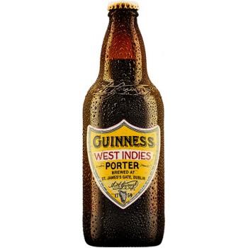 Пиво Guinness West Indies Porter (Гиннесс Вест Индиес Портер) темное пастеризованное фильтрованное 0,5 л x 12 ст.бут.