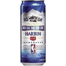 Пиво Harbin Ice (Харбин Ледяное) светлое 0,5 л х 12 ж/б