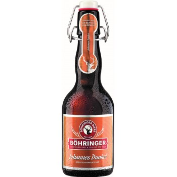 Пиво BOHRINGER  Johannes Dunkel (Бохрингер Ёханнес Дункель) светлое 0.33 х 20 ст.бут. алк. 4,9%