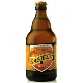 Пиво Van Honsebrouck Kasteel Tripel (Ван Хонзенбрук Кастил Трипель) светлое нефильтрованное 0,33 л х 24 ст.бут.