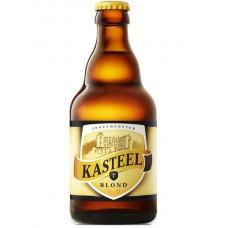 Пиво Van Honsebrouck Kasteel Blond (Ван Хонзебрук Кастил БЛОНД) светлое нефильтрованное 0,33 л х 24 ст.бут.