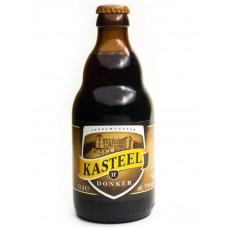 Пиво Van Honsebrouck Kasteel Donker (Ван Хонзебрук Кастил Донкер) пастеризованное нефильтрованное темное 0,33 л х 24 ст.бут.