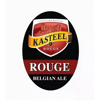 "Пивной напиток Van Honsebrouck Kasteel Rouge (Ван Хонзенбрук ""Кастил Руж"") тёмное вишнёвое 20 л ПЭТ-Кег key keg"
