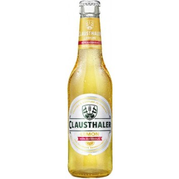 Пивной напиток Clausthaler Lemon (Клаусталер Лимон) безалкогольное 0.33 x 24ст. бут/ Clausthaler