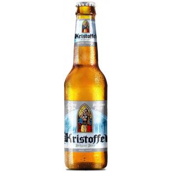 Пиво Kristoffel White (Кристоффель Уайт) светлое нефильтрованное 0.33л cт.бут.