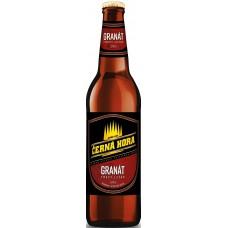 Пиво Черна Гора Гранат темное фильтр. пастериз. 0,5x20 бут. 4,5% / Cerna Hora Granat / Чехия