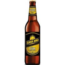 Пиво Черна Гора Лежак светлое фильтр. пастериз. 0,5x20 бут. 4,8% / Cerna Hora Lezak / Чехия