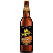 Пивной напиток Черна Гора Медова 13 светлое фильтр. пастериз. 0,5 л x 20 бут. / Cerna Hora Medova 13 / Чехия