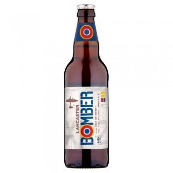 Пиво Marstons Lancaster Bomber (Марстон Ланкастер Бомбер) темное фильтрованное 0,5 л х 8 ст.бут.