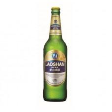 Пиво Tsingtao Laoshan (Циндао Лаошань) светлое 0,6 л х 12 ст.бут.