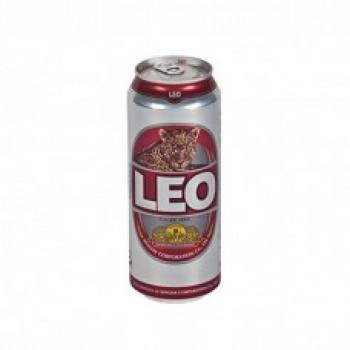 Пиво LEO (ЛЕО) светлое 0,49 л х 12 ал.банка