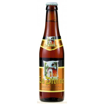 Пиво De Silly La Divine (Де Силли Ля Дивин) пастеризованное нефильтрованное тёмное 0,33 л х 24 ст.бут.