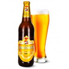 Пиво Lobkowicz Premium Psenicny (Лобковиц Премиум Пшеничный) светлое нефильтрованное 0,5 л x 20 ст.бут.