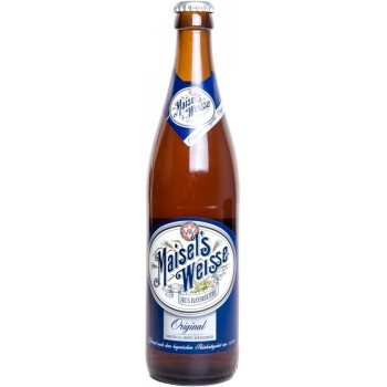 Пиво Maisels Weisse Original (Майзелс Вайс Ориджинал) светлое 0,5 л х 20 ст.бут.