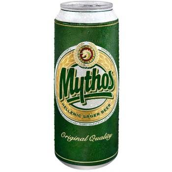 Пиво Mythos (Митос) светлое 0,5 л х 24 ж/б