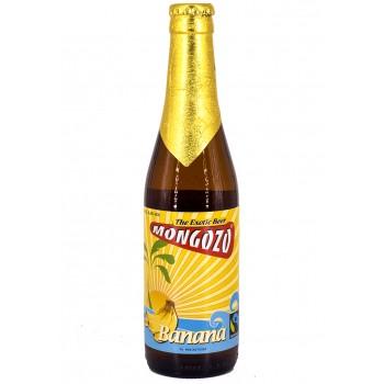 Пиво Mongozo Banana (Монгозо Банан) светлое нефильтрованное 0,33 л х 24 ст.бут.