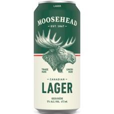 Пиво Moosehead Lager (Музхед Лагер) светлое  0.473л ж/б