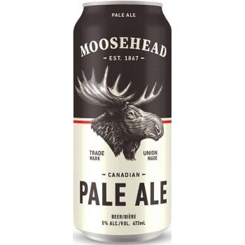 Пиво Moosehead PALE ALE (Музхед Пале Эль) светлое  0.473 л х 24 ж/б