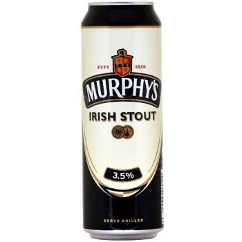 Пиво Мерфис Айриш Стаут 0,5 л. х 24 алк.3,5% / Murphys Irish Stout