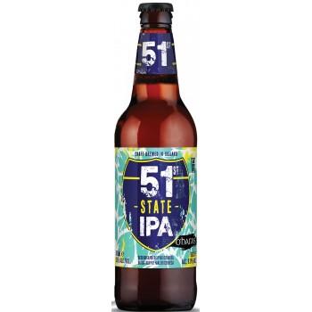 Пиво O'Hara's 51st State IPA (О`Хара 51-ый-штат-ИПА) светлое фильтрованное непастеризованное 0,5 л х 12 ст.бут.