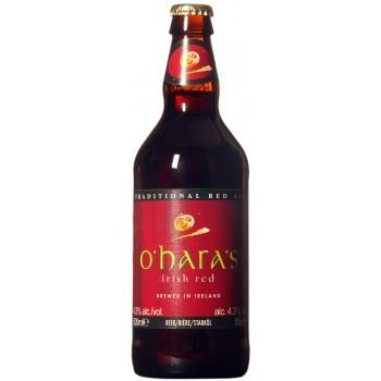 Пиво O'Hara's Irish Red (О`Хара Айриш Ред) тёмное фильтрованное пастеризованное 0,5 л х 12 ст.бут.