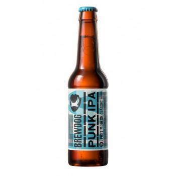 Пиво BrewDog Punk IPA (БрюДог Панк ИПА) светлое 0,33 л х 24 ст.бут.