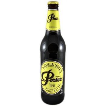 Пиво Pardubicky Porter (Пардубицкий Портер) тёмное фильтрованное пастеризованное 0,5 л х 20 ст.бут.