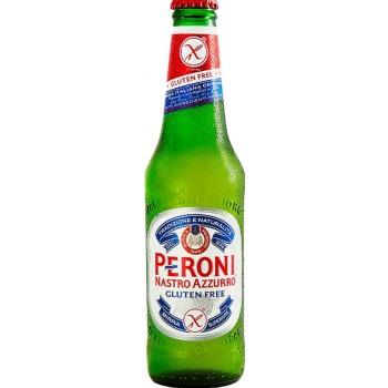 Пиво Peroni Gluten free (Перони без глютена) 0,33 л x 24 ст.бут. 5,1%